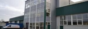 Kantoren gerealiseerd op bestaand kantoor