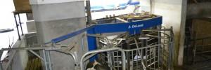 Robotruimte melkveehouderij
