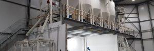 Nieuwbouw productie hal Wagenaar Dairy